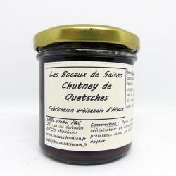 Chutney de Quetsches-confiture-confit-allégé-sirops-vinaigre-Les Bocaux de saison-Alsace-Strasbourg-Molsheim-Haguenau-Sélestat